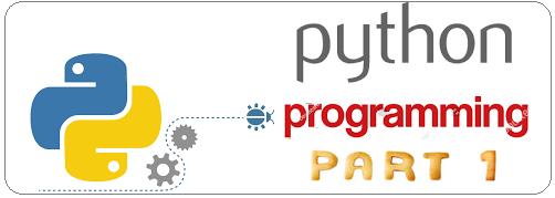 Python Programming Part -1